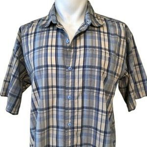 Patagonia Men's Plaid Short Sleeve Button Down